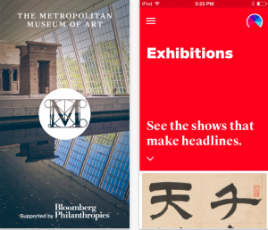 The Met app screenshot (taken 9/5/14)